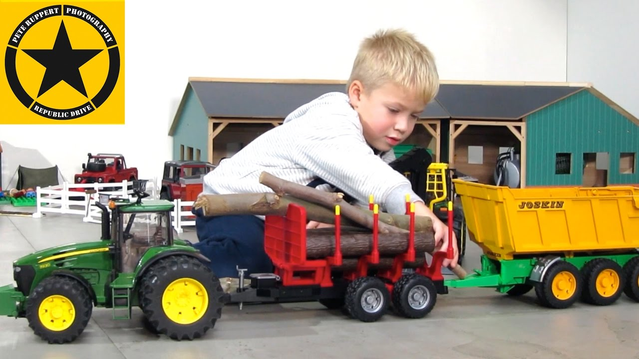 Toy Truck Videos For Children Tractors For Kids Best Of