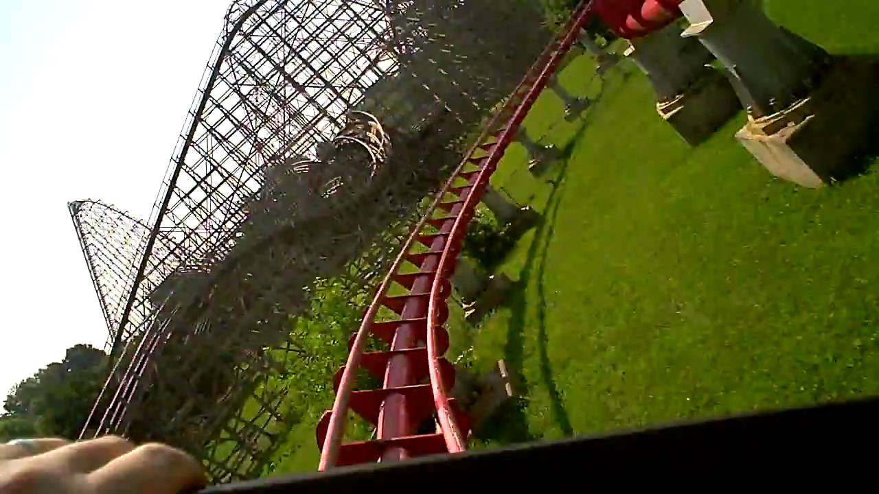 worlds of fun mamba roller coaster front seat pov. Black Bedroom Furniture Sets. Home Design Ideas