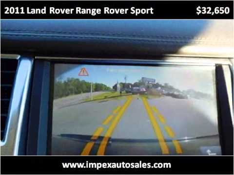2011 Land Rover Range Rover Sport Used Cars Greensboro NC ...