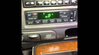 expedition navigator switch ac from celsius to fahrenheit
