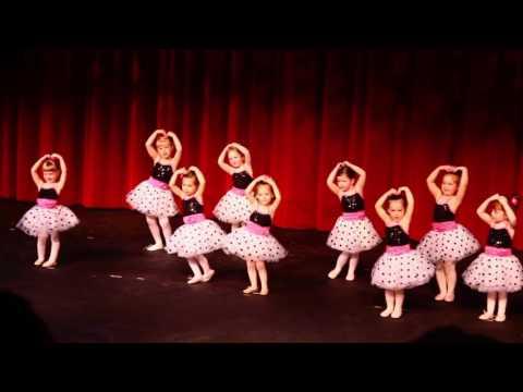 Aubrey's dance recital 2016