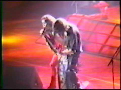 Aerosmith Live in Springfield, MA 1989