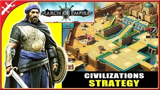 March of Empires : New Civilization Strategy Game by Gameloft (ios Gameplay - Castle Level 5)