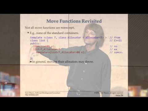 An Effective C++11/14 Sampler