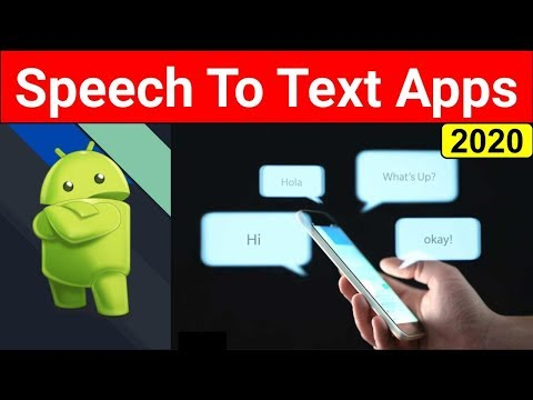 Top 5 Best Speech To Text Apps 2020