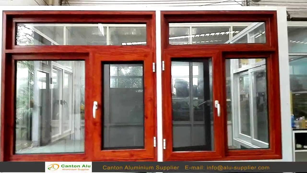 Powder Coating Aluminum Windows & Window Frames Supplier - YouTube