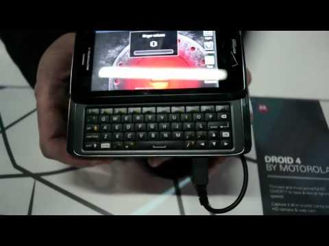 Motorola Droid 4 Hands On