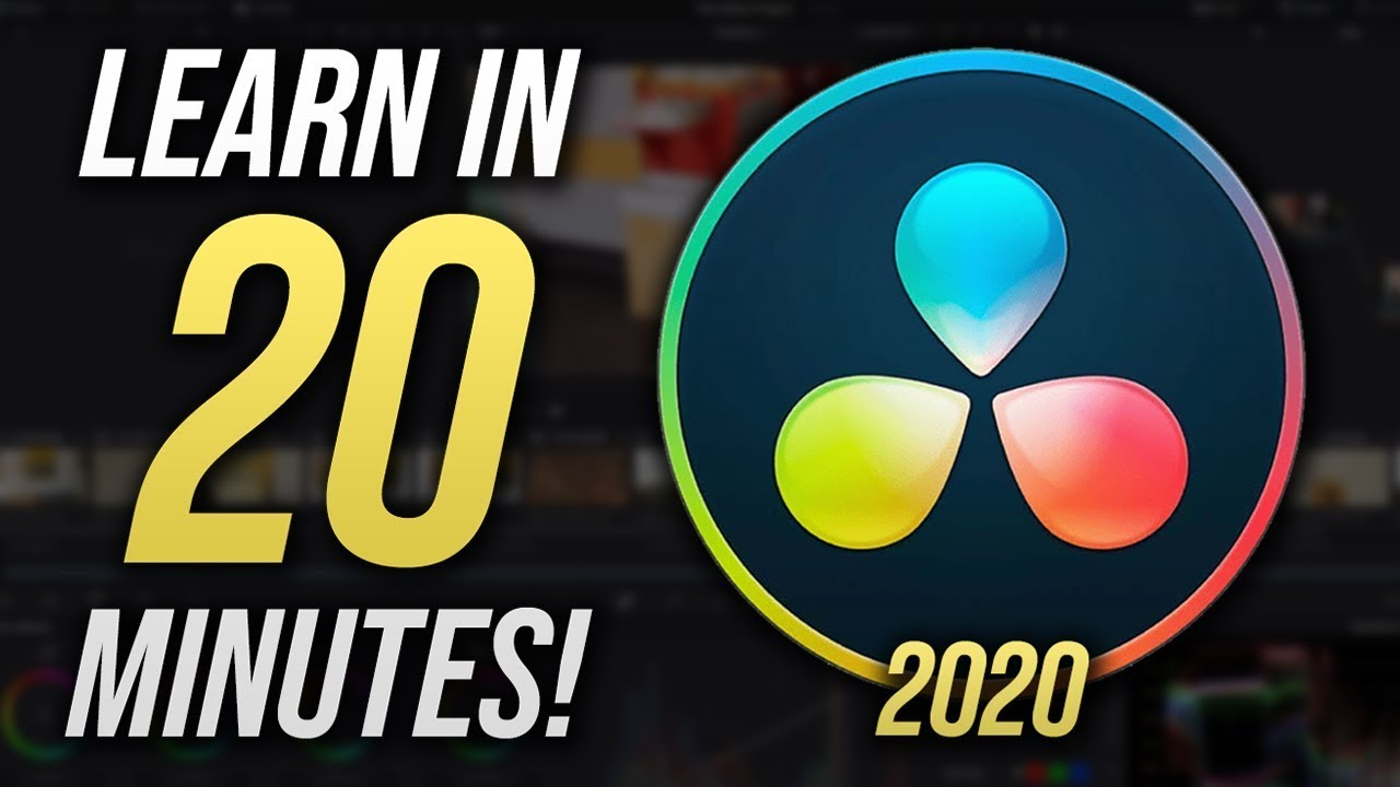Download The Complete DaVinci Resolve 16 Tutorial for Beginners (2020)