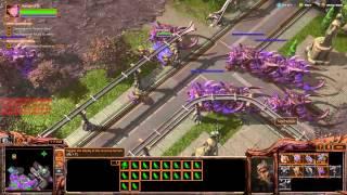 The Reckoning Brutal Walkthrough - Starcraft 2: Heart Of The Swarm
