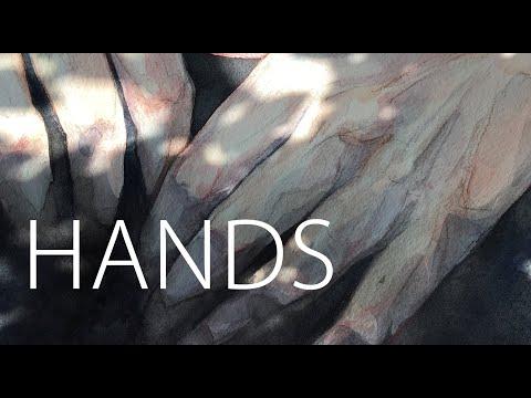 Рисую кисти рук, Hands Painting.