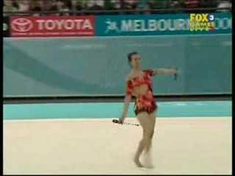 Amanda Lee See 2006 Commonwealth Games Clubs Team Final