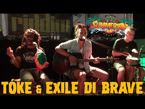 Tóke & Exile Di Brave - Blessed Morning @ Riddim Roots Center - SummerJam 2018