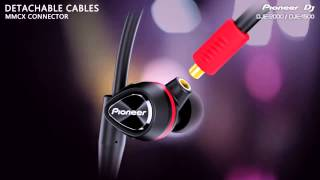 pIONEER DJE-2000 & DJE-1500 In-Ear Headphones with DJ B Traits  agiprodj