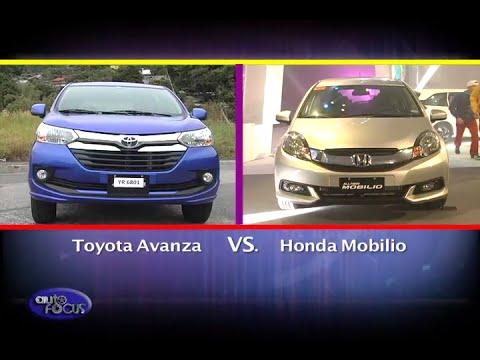 Toyota Avanza Vs Honda Mobilio Head 2 Head Youtube