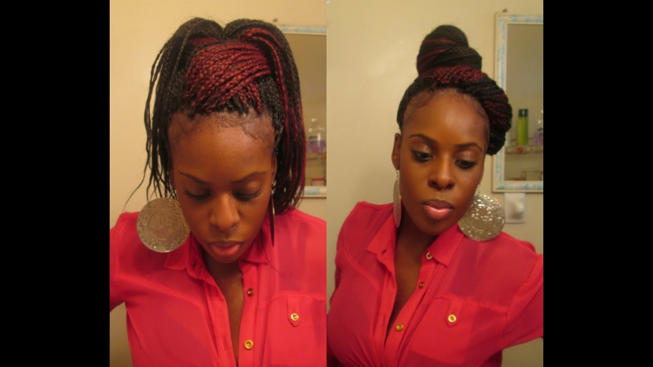 How To Style Box Braids Quot Brandy Inspired Quot 11 Styles Youtube