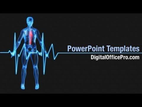 heart beat powerpoint template backgrounds digitalofficepro 07237w youtube. Black Bedroom Furniture Sets. Home Design Ideas