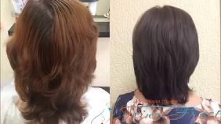 Окрашивание волос после химической завивки