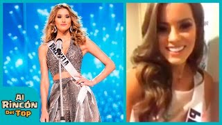 Miss Venezuela le pisa el vestido a Miss Perú y no le pide disculpa(La Miss Perú Valeria Piazza se encuentra muy motivada junto a los otras 87 candidatas para disfrutar de la gala del Miss Universo 2016, evento que servirá ..., 2017-01-30T02:34:14.000Z)