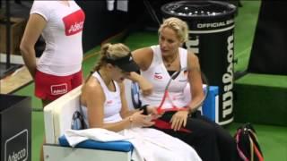 2014 Fed Cup Final | Highlights Lucie Safarova (CZE) v Angelique Kerber (GER)