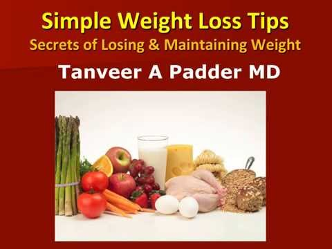 Simple Weight Loss Tips Secrets and Strategies of Losing and Maintaining Weight