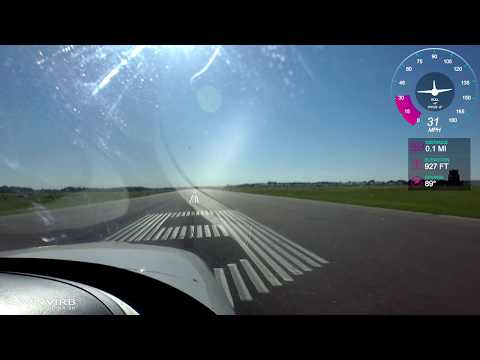 Takeoff | Landing at Anoka County Airport (KANE) in a Cirrus SR22 - Chick In A Plane