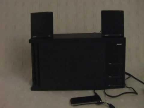 for sale my bose acoustimass 3 series ii system sound. Black Bedroom Furniture Sets. Home Design Ideas