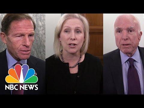 Senators Criticize Air Force For Past Reporting Error On Texas Gunman Devin Kelley | NBC News