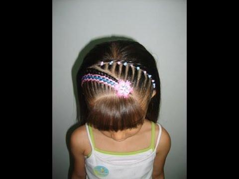 Peinados Con Trenzas Para Nina Los Mejores Peinados Youtube