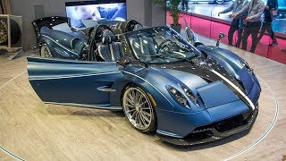 50 best supercars in 89th Geneva Motor Show!!