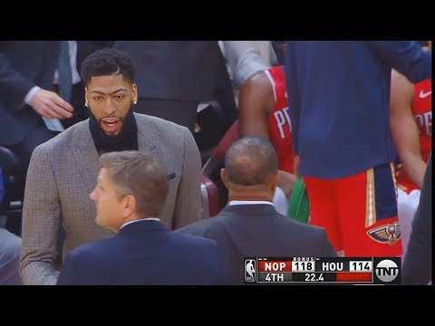 Anthony Davis Gets Ignored By Pelicans Coaches After Trade Request While Trying To Help!