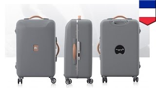 No more lost luggage? New smart suitcase could be trackable via an app and be able to weigh itself