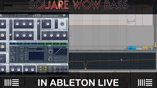 "Sound design #1: ""Square Wow Bass"" in NI Massive"