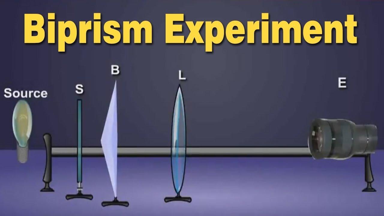 Biprism Experiment