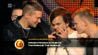 The Rasmus-Emma Gaala 2013[Best Album Cover & Best Music Video]