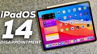iPadOS 14 was kind of a Let Down