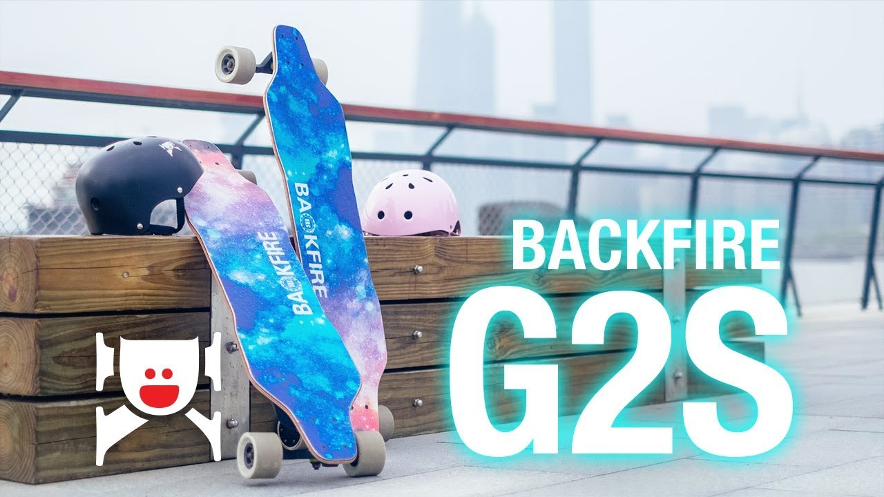 Backfire Board G2S \u2013 Updated Backfire Galaxy II Electric Skateboard  YouTube