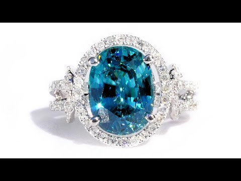 vintage-vivid-top-blue-zircon-and-diamond-7.24-tcw-statement-cocktail-ring-14k-white-gold-natural