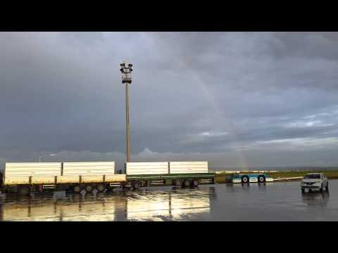 Rainbow  with Saudi Air Cargo