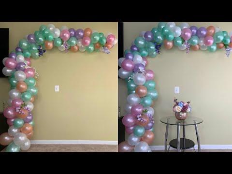 $5 Dollar Tree Balloon Arch