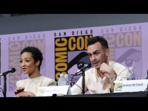 Preacher panel @ SDCC 2017 (Seth Rogen, Dominic Cooper, Ruth Negga)