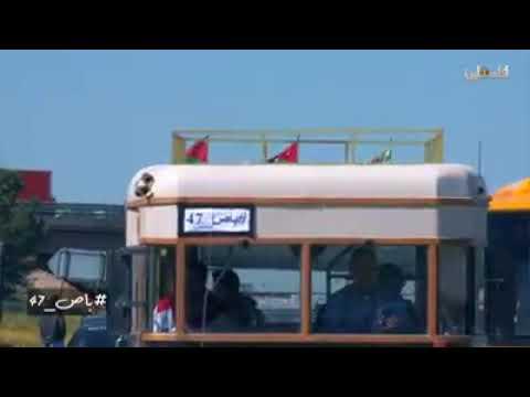 باص عمان القدس نابلس / Bus No 7 Amman.  Jerusalem post