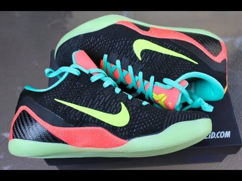 5847e1e8e69e Kobe 9 Elite Low Nike iD - YouTube