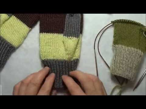 Tricoter des mitaines avec 2 aiguilles circulaires youtube - Faire un poster avec plusieurs photos ...