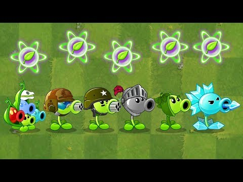 All Pea Max Level Power-Up Vs Modern Day Final Boss Fight! Mod In Plants Vs Zombies 2 Gameplay