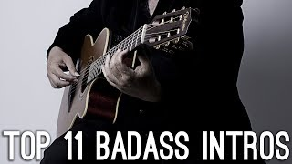 Top 11 Songs Intros for ACOUSTIC guitar you should know!