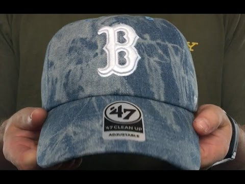 Red Sox  ACID WASH STRAPBACK  Hat by Twins 47 Brand - YouTube b350ee44c1d