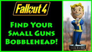 fallout 4 small guns bobblehead location 4k ultra hd