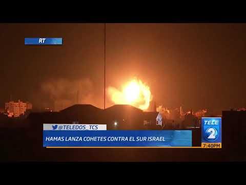 Hamas lanza cohetes contra el sur de Israel
