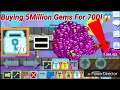 """""""BUYING 5MILLION GEMS!"""" [ FOR 70DLS! ] OMG! - Growtopia"""