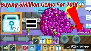"""BUYING 5MILLION GEMS!"" [ FOR 70DLS! ] OMG! - Growtopia"